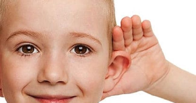 Sensorineural loss of early age children : I hear but I can't understand problem