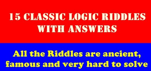 15 Classic Logic Riddles with Answers