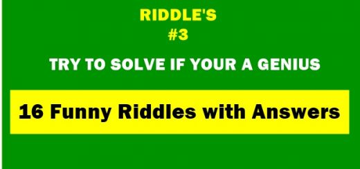 Here are the best 16 Funny Riddles with Answers, If you would like to solve puzzle, quiz, riddles, and tricky questions then brainy read is all for it.