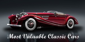 Most Valuable Classic Cars of the world